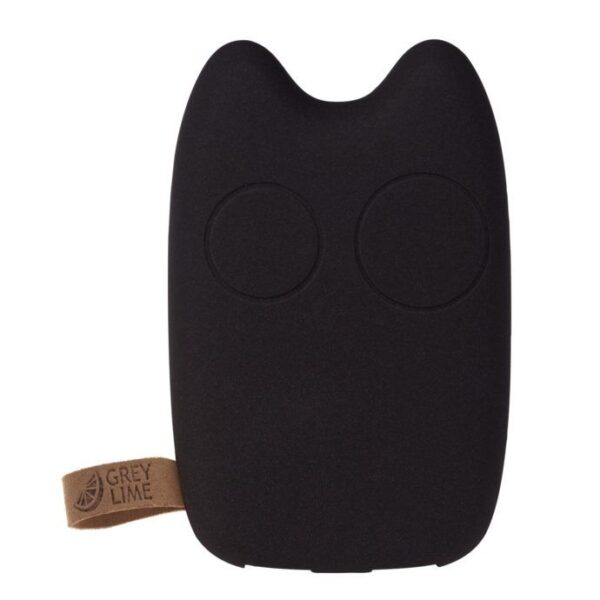 GreyLime Power Owl, 7800 mAh powerbank, Sortbrun