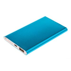 GreyLime Power Slim, 4000 mAh powerbank, Turkis
